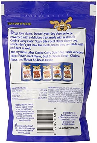 Amazon.com : Canine Carry Outs Steak