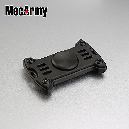 GP1 Titanium Fidget Spinner, Hand Excise, Relieves Stress and Anxiety, MecArmy (black) by MeCarmy (Image #10)