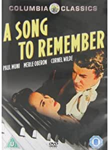 A Song to Remember [Reino Unido] [DVD]