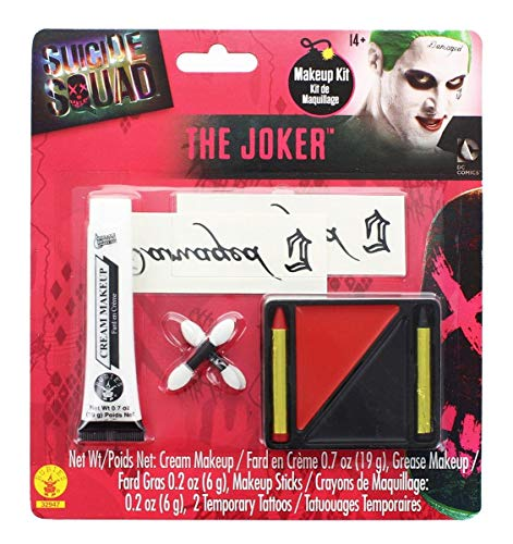 Rubie's Costume Co Men's Suicide Squad Costume Make-up Kit (Suicide Squad Best Makeup)