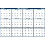 "House of Doolittle 2016 - 2017 Laminated Academic Wall Calendar, Reversible, 24 x 37"" (HOD395-17)"