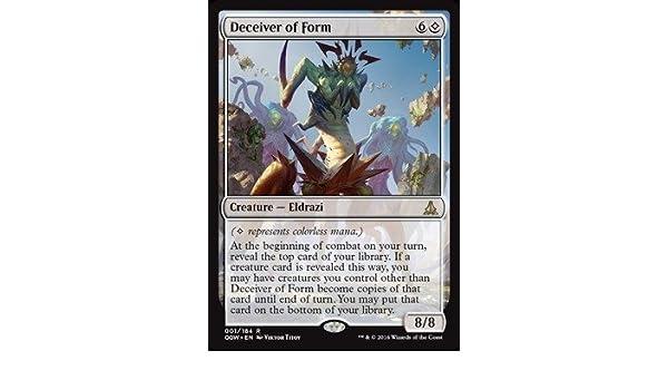 Amazon.com: Magic: the Gathering - Deceiver of Form (001/184 ...