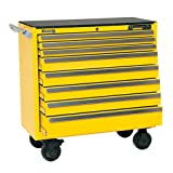 Kennedy Manufacturing 3900MPYW 39'' 8-Drawer Maintenance Pro Roller Cabinet, Industrial Yellow
