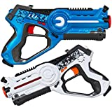 Best Choice Products Kids Interactive Blaster Tag Set w/ Multiplayer Mode, 2 Pack