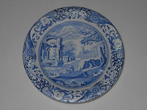 Spode Blue Italian Coated Paper Luncheon Dessert Plates 8 count