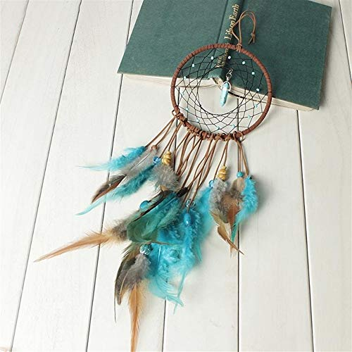 DUOER-wind chimes Handmade Dream Catcher Feather Colorful Living Room Garden Hanging Pendant Home Car Hanging Decor Dream Catcher Ornament (Color : Style 1) by DUOER-wind chimes (Image #2)
