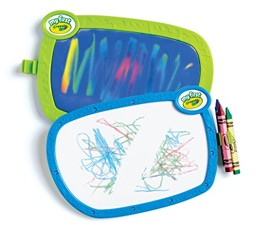 51X6cjPAURL - Crayola My First Double Doodle Board Drawing Tablet, Toddler Toy, Gift