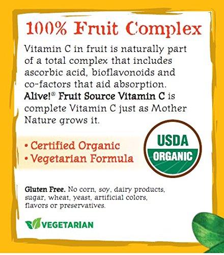 Nature S Way Alive Organic Vitamin C Powder