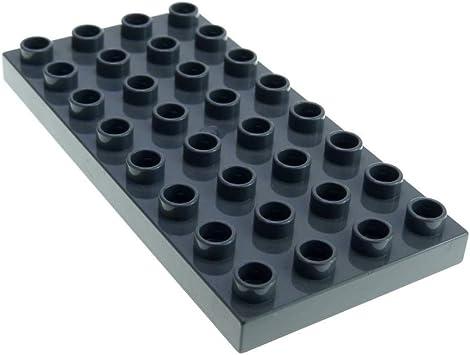 LEGO DUPLO DISNEY BAUPLATTE 4 x 8 HALBE KREISPLATTE NEUES GELB  AUS 10922 NEU
