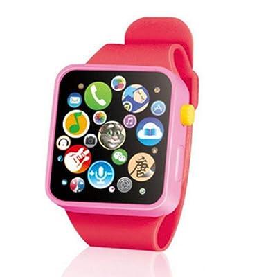 TOYANDONA Reloj de Pulsera con Pantalla táctil 3D para niños de educación temprana para niños Reloj Inteligente: Hogar