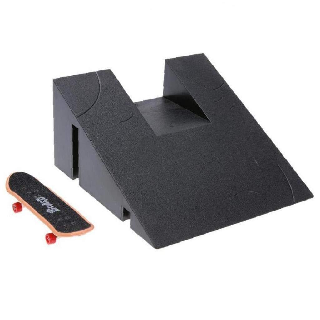 Zonster Finger Skate Ramp Piezas Pista Juguetes para Ni/ñOs Parque Regalo Diapas/óN Monopat/íN Mini Juguetes Pack de 1 Estilo Al Azar