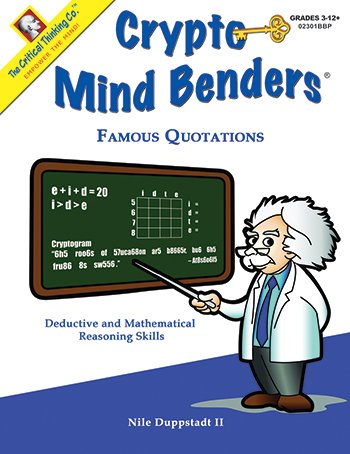 Download Crypto Mind Benders Famous Quotations pdf