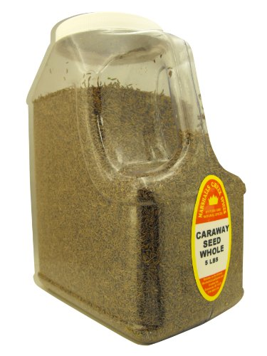 CARAWAY SEED 5 LB. RESTAURANT SIZE JUG by Marshall's Creek Spices