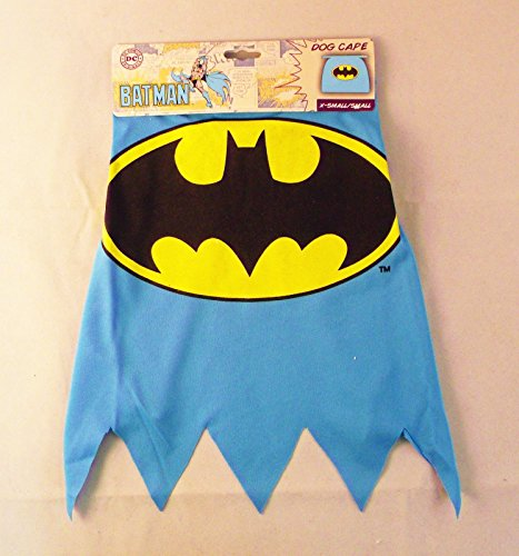 Batman Costumes For Dog (Batman Cape for Dogs - Size Medium / Large)