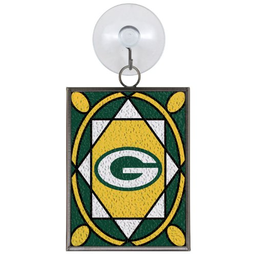 The Boelter 124-GREBAY Stained Glass Ornament - Green Bay -