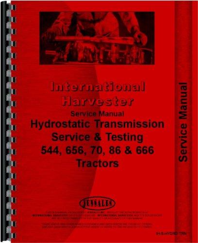Read Online Farmall 656 Tractor Hydrostatic Transmission Service Manual pdf