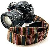 Generic Camera Neck shoulder Strap Retro Style for Nikon Models ,Multicolor