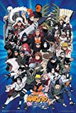 "Naruto Characters Poster 24"" x"