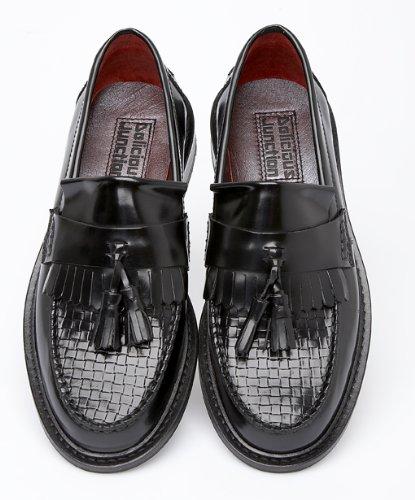 08e3c239290 Delicious Junction Ladies Womens Basket Weave Tassel Loafers Shoe ...