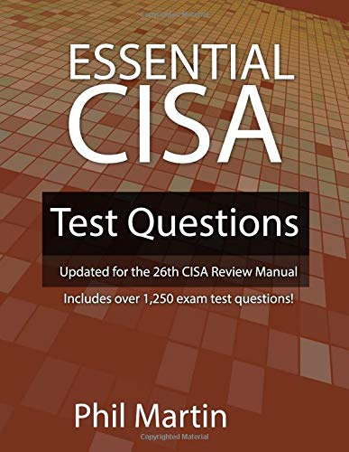 Isaca cisa the best amazon price in savemoney essential cisa test questions updated for the 26th cisa review manual fandeluxe Gallery