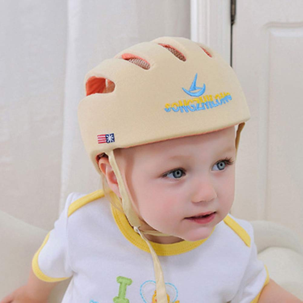 f/ür eine sichere Umgebung beim Krabbeln Spazierengehen Moonvvin Baby-Schutzhelm mit Kopfschutz verstellbar