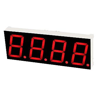 2Pcs 0.56 Inch 1 Digit Blue Led Display 7 Segment Common Cathode US Stock f