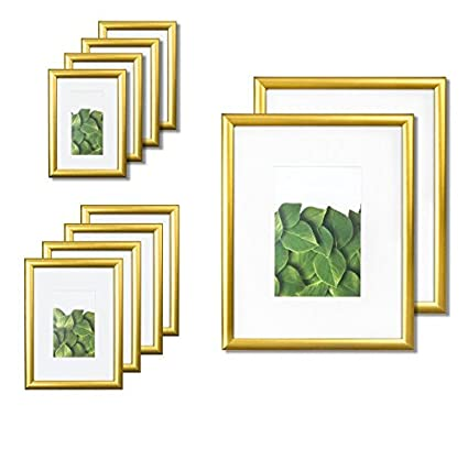 Amazon.com - Vista Kayan Gallery Picture Frame 10-Pack Photo Set in ...