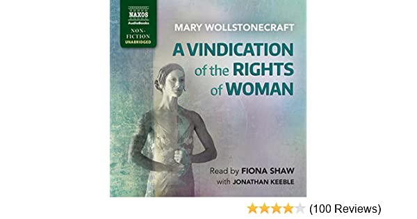 Sample High School Essays Amazoncom A Vindication Of The Rights Of Woman Audible Audio Edition  Mary Wollstonecraft Fiona Shaw Naxos Audiobooks Books Examples Of An Essay Paper also Help With Essay Papers Amazoncom A Vindication Of The Rights Of Woman Audible Audio  Health Is Wealth Essay