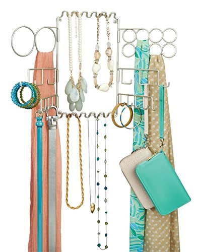 Amazoncom mDesign Hanging Fashion Jewelry and Accessories