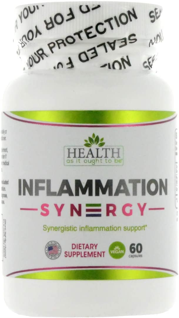 Inflammation Syn3rgy Physician Formulated Turmeric, Pine Bark, Ginger Root – 60 Capsules