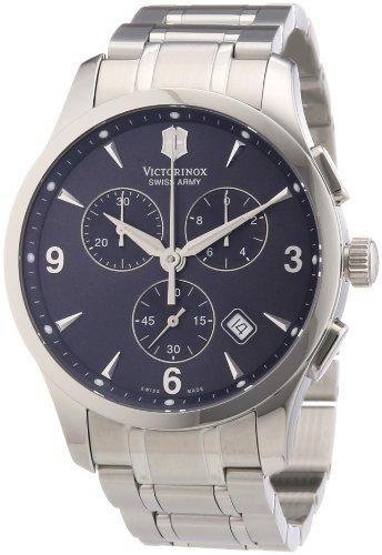 Alliance Chrono Mens Watch - Victorinox Swiss Army Men's 241478 Alliance Dark Gray Chronograph Dial Watch