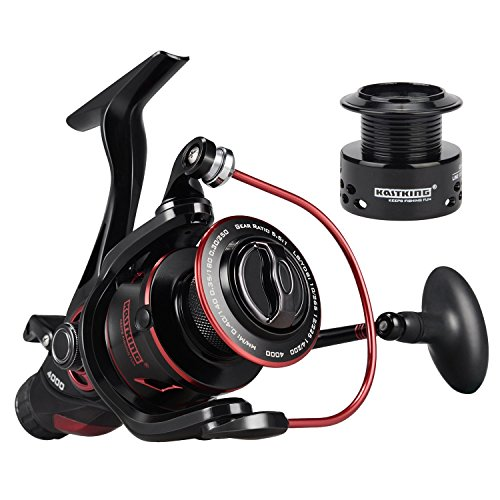 (KastKing Sharky Baitfeeder III Spinning Fishing Reel,Size 6000)