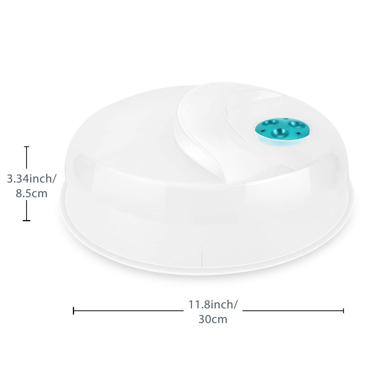 Flexzion Cubierta microondas Placa Con vapor ajustable orificio de ...