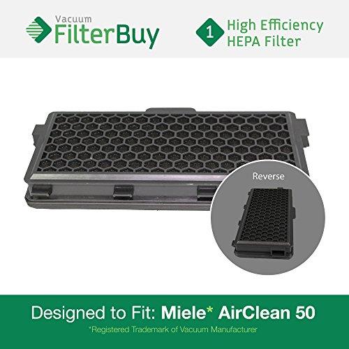 Miele Active AirClean 50 HEPA Filter, Part # AAC50 & SF-AA50