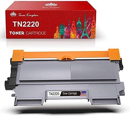 Toner Kingdom 1 Paquete Compatible Brother TN2220 TN2210 Cartucho ...