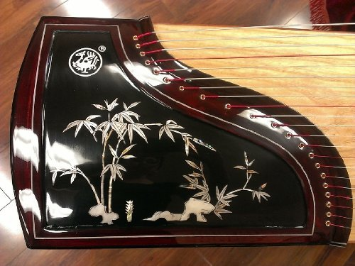 Scarlet Bird Zhuque Guzheng Model#790 Mother-of-pearl Inlay by ZhuQue
