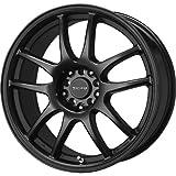 Drag Wheels DR-31 15x6.5/ 4x100/ 4x114.3 Flat Black Full rims