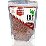 R R AGRO FOODS Premium Organic Flaxseeds 500 GMS
