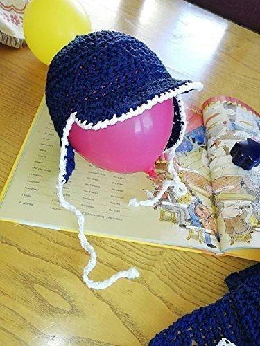 Cappellino Cappello Con Visiera E Paraorecchie Primaverile Bambina O