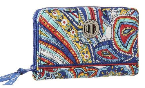 Turnlock Marina Cotton Paisley Wallet Bradley Vera Signature FnUaUw