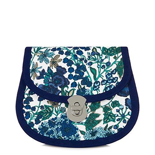 Ruby Shoo Women's Blue Monaco Clutch Bag Monaco Clutch