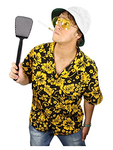 [Fear and Loathing Raoul Duke Costume Kit (Small)] (Gonzo Adult Costumes)