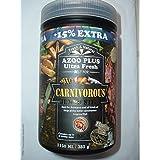 AZOO 385 gm (38.9 FL oz) + 15% Extra Plus carnívora Arowana Jumbo Sticks