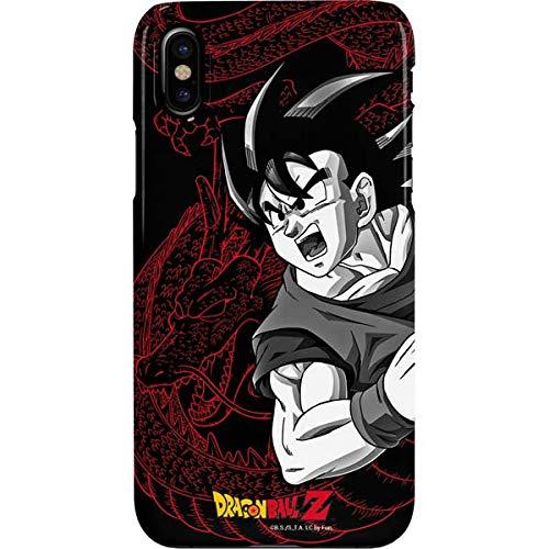 Amazon.com: Goku and Shenron iPhone XS Case - Dragon Ball Z ...
