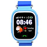 Kids GPS Smart Watch, 9Tong Childrens Smartwatch GPS Tracker GSM Sim Touch Screen Support SOS Call Voice Chatting Activity Tracker For Boys Girls
