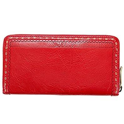 bca010d7e9ab Amazon | アナスイ ANNA SUI 財布 長財布 レディース ノスタルジー ラウンドファスナー 長財布 (レッド) | 財布