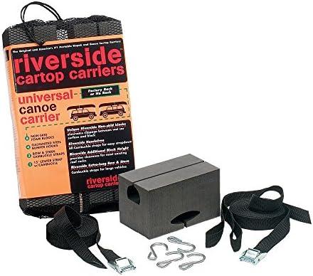 Seattle Sports Riverside Universal Kanuträger, 17,8 cm, Schwarz