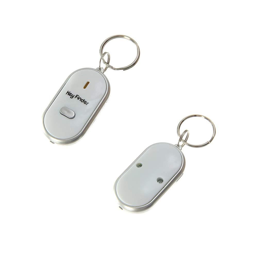 Blanc Runfon LED Key Finder Localisateur de cl/és