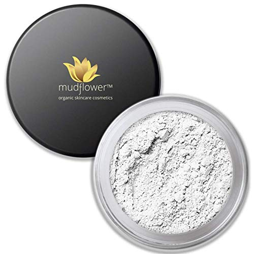 Mudflower Cosmetics Organic Acne & Blemish Treatment Powder, 1.0 ounce