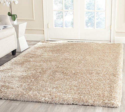Safavieh South Beach Collection SBS562C Handmade Champagne Polyester Area Rug (8′ x 10′)